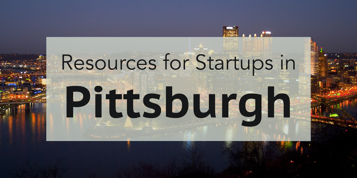 Resources for Startups in Pittsburgh